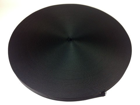 Gurtband-100-Meter-30mm-Schwarz-Taschengurt-Gurt-Band
